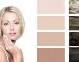 Колір волосся в тон особи фото