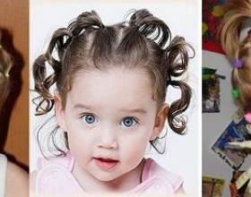 Дитячі короткі зачіски фото