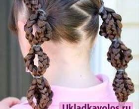Дитячі зачіски в школу фото