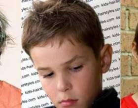 Дитячі стрижки та зачіски для хлопчиків фото