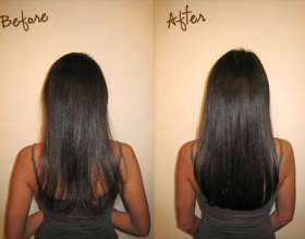 Гаряче нарощування волосся фото