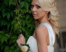 Грецькі весільні зачіски фото