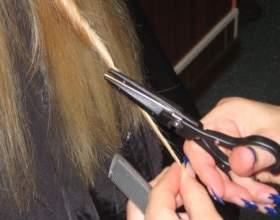 Як робиться стрижка гарячими ножицями фото