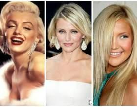 А чи легко бути блондинкою? Або догляд за знебарвлені волоссям фото