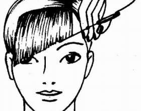 Як підстригти косу чубок фото