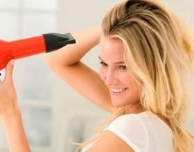 Як правильно укладати волосся феном: поради і рекомендації фото