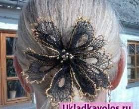 Як зробити шпильку на волосся своїми руками? фото