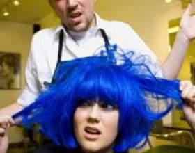 Як змити фарбу з волосся фото
