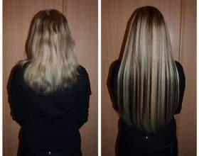 Капсульне нарощування волосся фото