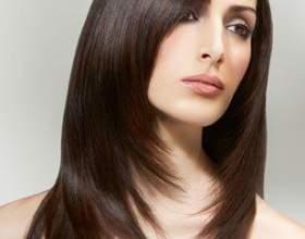 Каскадна стрижка на середні волосся фото