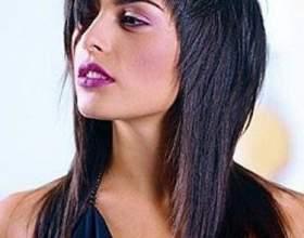 Коса стрижка фото