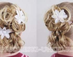 Красиві дитячі зачіски на 1 вересня - фото фото