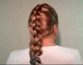 Квадратна коса фото