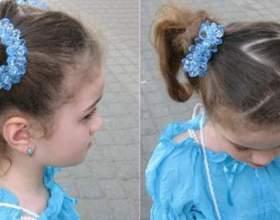 Легкі зачіски для дівчаток: приклади фото фото