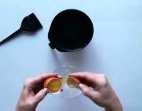 Маска для волосся на основі реп`яхової олії фото