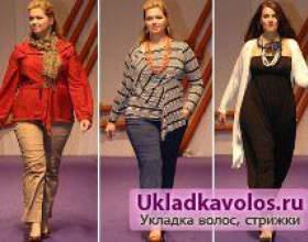 Мода осені для дівчат з пишними формами фото