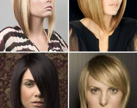 Модельні стрижки на середні волосся фото