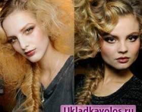 Модні зачіски осінь-зима 2017-2012 для дівчини фото