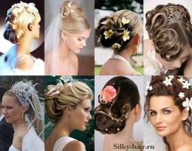 Модні весільні зачіски 2017 фото