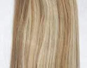 Нарощування волосся на шпильках фото