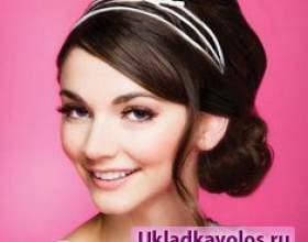 Обідки - стильні аксесуари для волосся фото