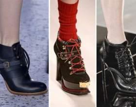 """Осіння взуття 2017 жіноча (фото): ботильйони, снікери, ботфорти, гумові чоботи і чоловічі моделі С""""РѕС'Рѕ"""