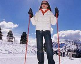 Відпочинок на лижах фото