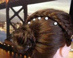 Святкова зачіска в 2 стилях плетіння фото