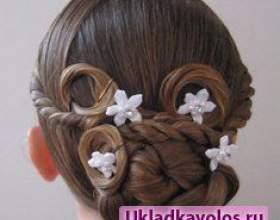 Зачіски для підлітків дівчаток на новий рік фото