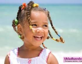 Зачіски на дитячі волосся фото