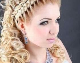 Зачіски на волосся на випускний. Кращі варіанти фото