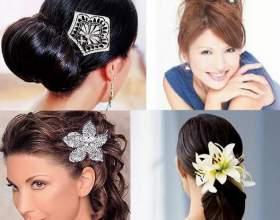 Зачіски з шпильками фото