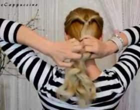 Прості зачіски на кожен день фото