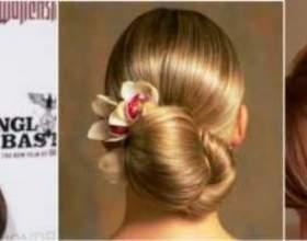 Прості зачіски з шпильками фото
