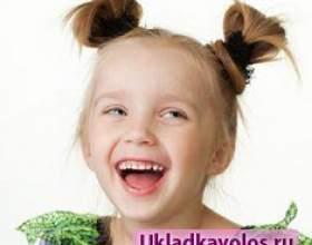 Найпростіші дитячі зачіски фото