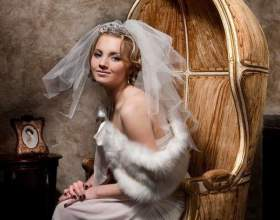 Шикарні весільні зачіски на середні волосся з фатою фото