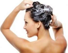 Змивка для волосся фото