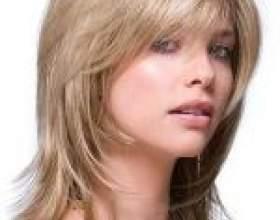 Стрижка каскад на середні волосся фото фото
