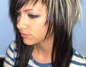 Стрижка шапочка на довге волосся фото