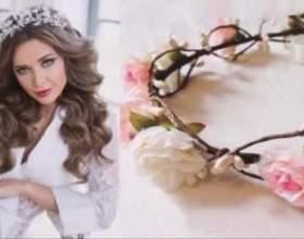Весільні аксесуари для зачіски фото