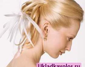 Весільні зачіски без фати фото