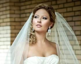 Весільні зачіски з фатою на середні волосся: 18 фото ідей фото