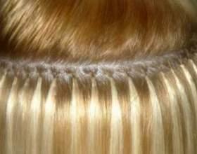 Технологія гарячого нарощування волосся фото