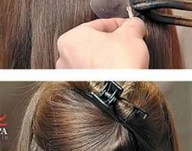 Технологія нарощування волосся фото