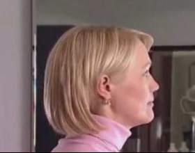 Укладання волосся середньої довжини фото