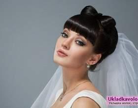 Прикраси для весільних зачісок фото