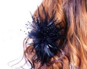 Прикраси для волосся своїми руками фото