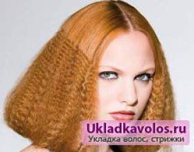 Прасування гофре для волосся фото