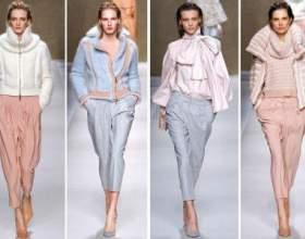 В`язані речі - светри, плаття, пальто, кардигани, водолазки. Які кольори і фасони актуальні? фото