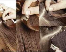 Волосся на заколках фото